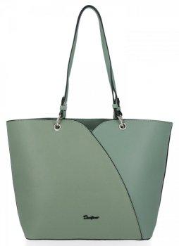 Klasické Dámské Kabelky XL David Jones Zelená