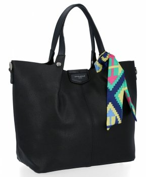 David Jones Dámské Kabelky XL Shopper Bag a Listonoška Černá