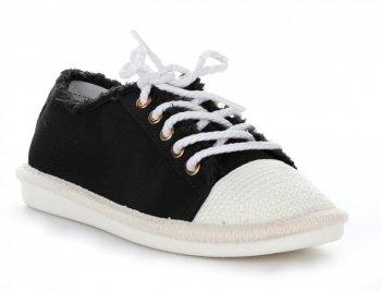 Módní dámské boty černé