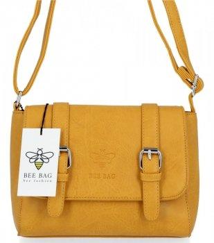 BEE BAG Dámská Kabelka Listonoška Vintage Bag Žlutá
