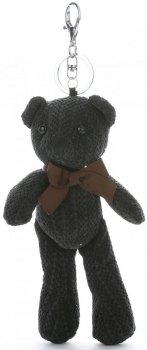 Přívěšek ke kabelce Plyšový medvídek černý
