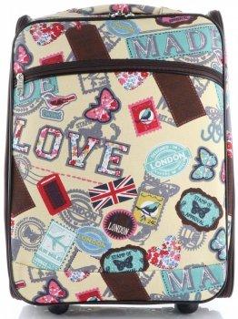 Palubní kufřík značky Or&Mi Butterflies&Stamps multicolor žlutá