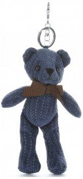 Přívěšek ke kabelce Plyšový medvídek tmavě modrý