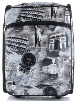 Palubní kufřík značky Or&Mi Travel Monument multicolor černá