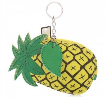 Přívěšek na klíče ke kabelce Ananas žlutý