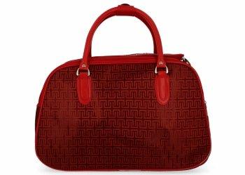 Malá Cestovní Taška Kufřík Or&Mi Greek Style Červená