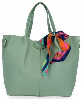 David Jones Dámské Kabelky XL Shopper Bag a Listonoška Mátová