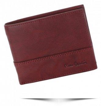 Pierre Cardin Pánská kožená peněženka Bordová