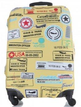 Obal na kufr Snowball M size značky vícebarevný žlutá