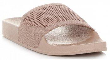 Univerzální Dámské Nazouváky Ideal Shoes Béžové