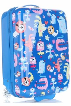 Módní Palubní kufřík Madisson multicolor - modrá