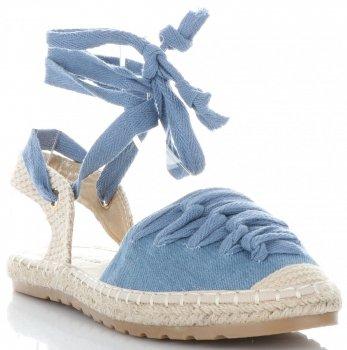 Módní dámské espadrilky modré