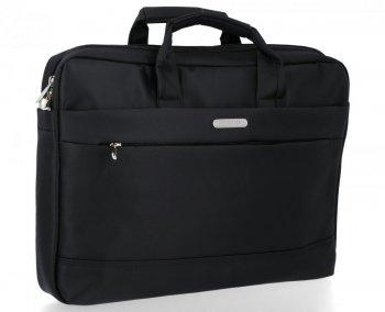 David Jones Pánská Taška na notebook XL Size Černá