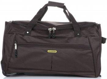 Cestovní taška na kolečkách s teleskopickou rukojetí renomované firmy Madisson čokoládová