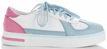 Tenisówki Damskie marki Lady Glory Multikolorowe Błękitne