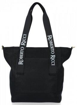 Uniwersalna Torebka Damska Modny ShopperBag w rozmiarze XL Czarna