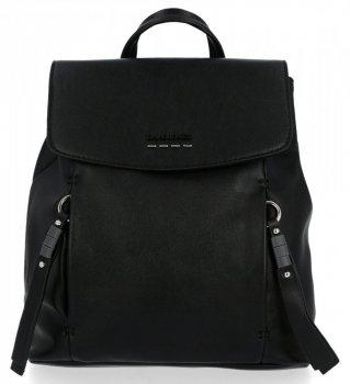 Uniwersalne Plecaczki Damskie firmy David Jones Czarny