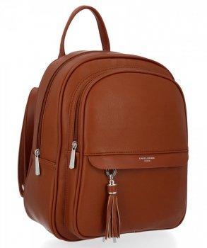 Uniwersalny Solidny Plecak Damski z kieszenią na tablet firmy David Jones Rudy