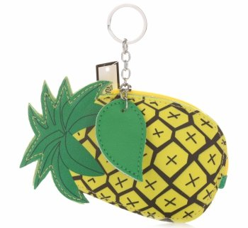 Brelok na Klucze do Torebki Ananas Żółty