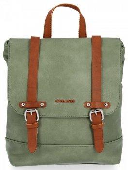 David Jones Firmowe Plecaczki Damskie w stylu vintage Zielony