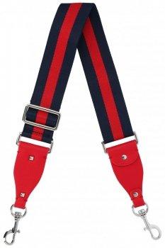 Firmowy Pasek do torebki Diana&Co Multikolor Czerwony