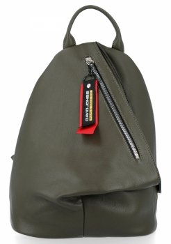 Designerski Plecak Damski firmy David Jones Khaki