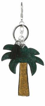 Kľúčenka na tašky dlaŘ v čiernej farbe