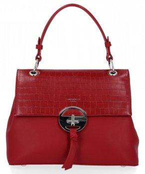 Elegantná dámska taška David Jones Tmavo červená