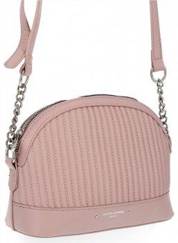Štýlová dámska taška David Jones ružový