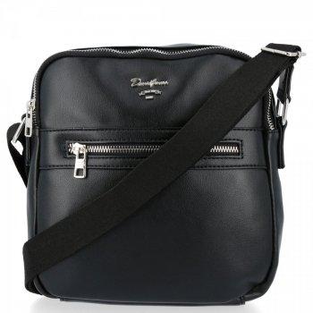 Značková pánska taška s priehradkami 2 David Jones čierny