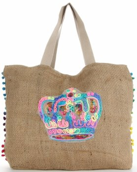 Značková dámska taška veľkosti XXL, odolná a priestranná, ideálna pre letnú korunu