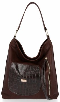 Dámske tašky Conci Veľkosť XL čokoláda