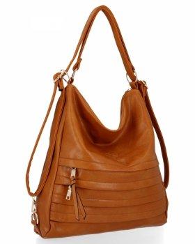 BEE BAG je univerzálna dámska taška s funkciou batohu Judite Ruda