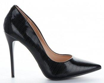 Elegantné dámske podpätky Bellucci čierny