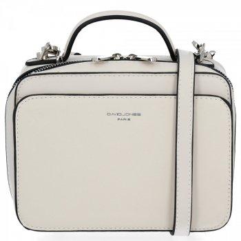 Elegantné Dámske malé tašky od David Jones Beige