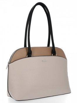 Klasická dámska taška David Jones Béžová