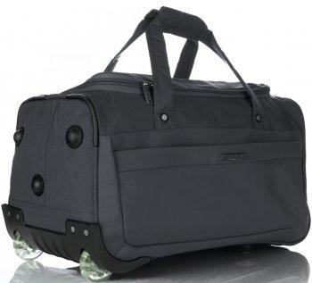 Snowball veľká cestovná taška XL na kolieskach s rámom Šedá