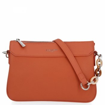 Obchodná taška Dámska univerzálna taška na posol David Jones Coral