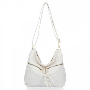 Univerzálna dámska taška Emilia biela