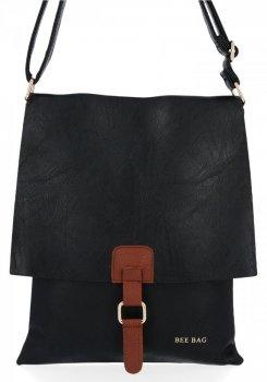 BEE Bag Módne Dámske Messenger Bag XL Napoli Čierna