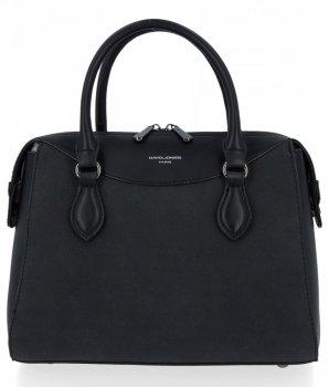 Elegantné dámske tašky klasické tašky David Jones čierny