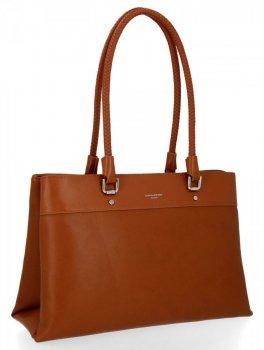 David Jones Klasické kabelky dámske dvojkomorové červené