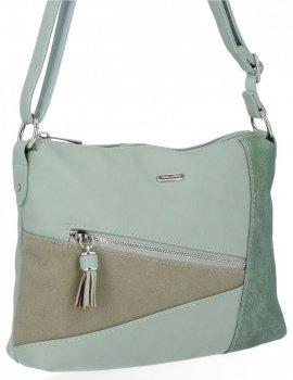 Univerzálna módna dámska taška od David Jones Mint