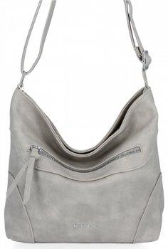 BEE Bag univerzálna taška Messenger Dámska príležitostná Elena svetlošedá