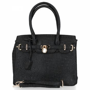 BEE Bag elegantná dámska taška Adele Čierna