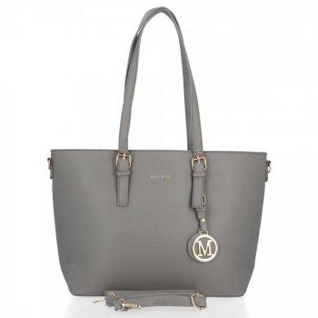 Bee Bag Klasická dámska taška XL Isla musí mať šedú farbu