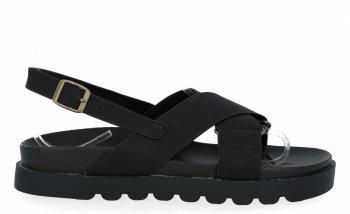Čierne univerzálne Dámske sandále od spoločnosti Givana