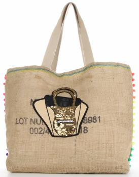 Značková veľkosť XXL dámska taška je odolná a priestranná ideálna pre letnú tašku