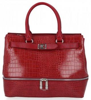 Elegantná dámska taška so zvieracím vzorom Davida Jonesa Bordowu
