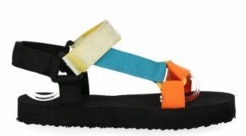 Oranžové módne dámske sandále Bellucci